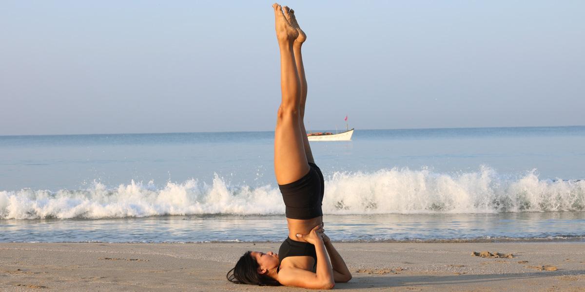 Posizioni yoga per la tiroide