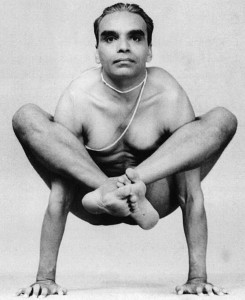 Iyengar yoga young
