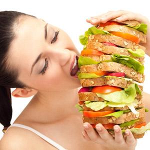mangiare troppo male