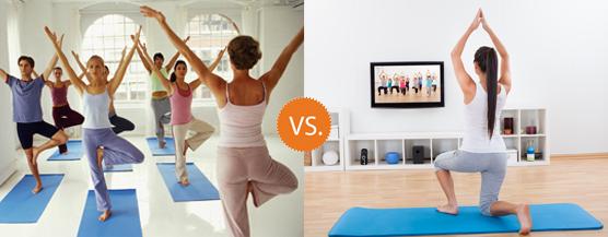 yoga meglio classi o video