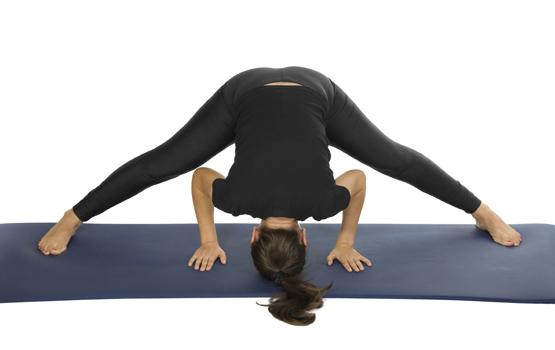 prasarita padottanasana posizione yoga asana