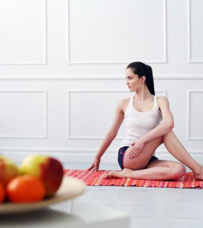 yoga alimentazione vegetariana