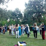 bollywood dance energie nel parco sutri