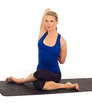 gomukhasana posizione yoga muso di vacca
