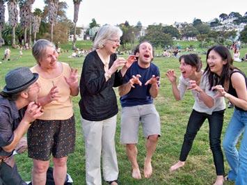 pratica yoga della risata