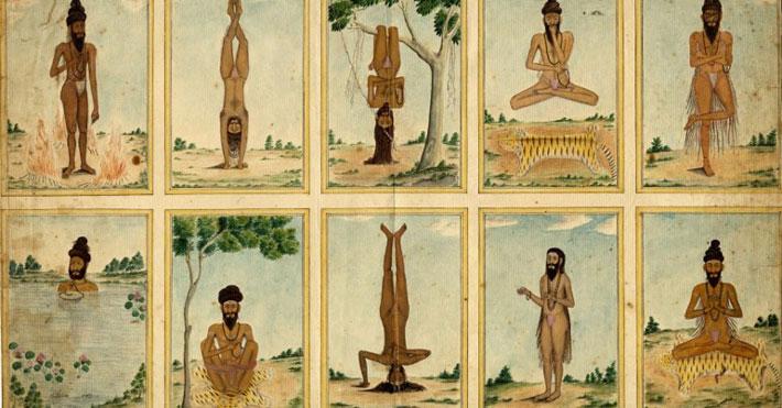 primi testi storia yoga