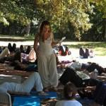 yoga a energie nel parco
