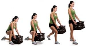 alzare i pesi correttamente