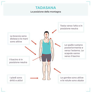 come fare Tadasana
