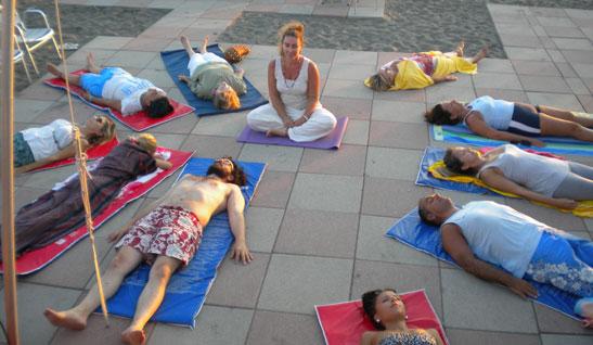 il rilassamento profondo nello yoga