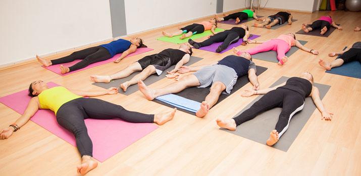 yoga nidra rilassamento