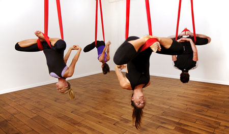 antigravity yoga inversione