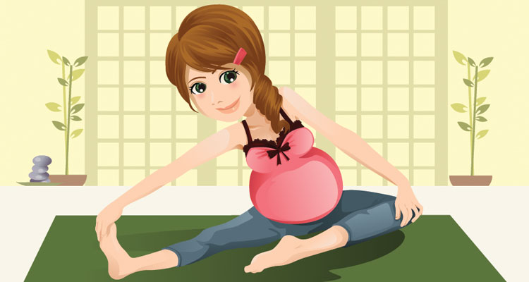 Esercizi yoga per la gravidanza