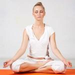 Ardha padmasana, la posizione del mezzo loto