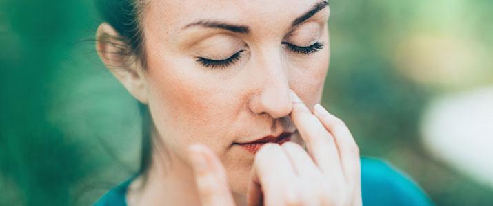 la respirazione e lo yoga