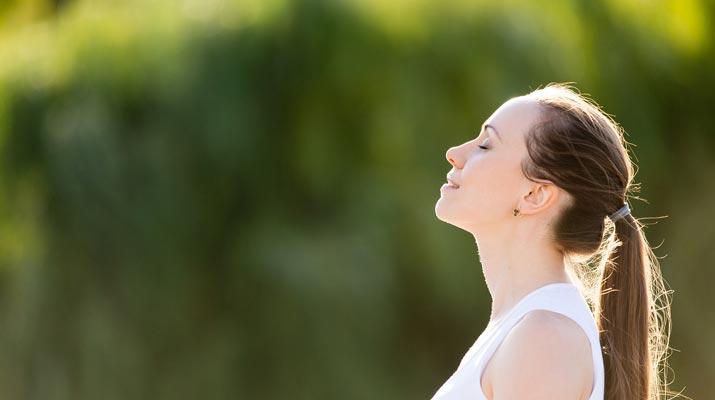 Respirazione nello yoga