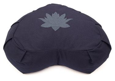 cuscino a forma di foglia di loto