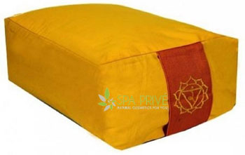 cuscino meditazione yoga rettangolare
