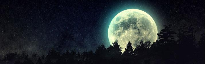 la luna nello yoga