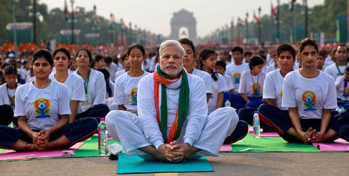 nascita giornata mondiale dello yoga