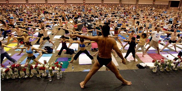 pratica bikram yoga