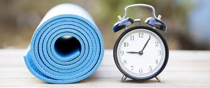 ora di fare yoga