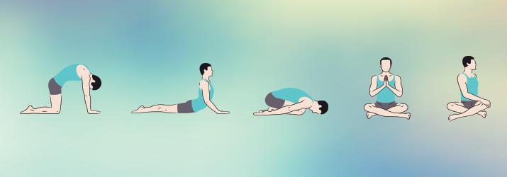 posizioni yoga del mattino