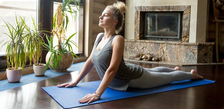 yoga e stanchezza