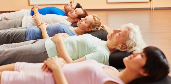 yoga per la stanchezza fisica