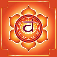 chakra svadisthana arancione