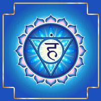 chakra visuddha azzurro