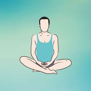 posizione per meditazione