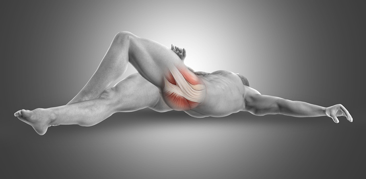 stretching muscolo piriforme