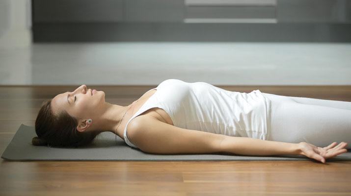 yoga nidra per rilassarsi
