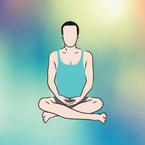 Sukhasana per meditare