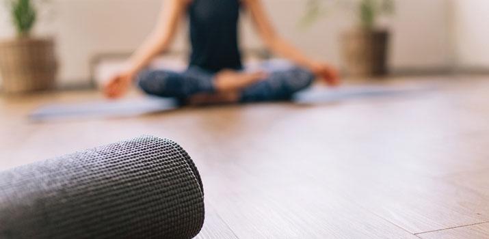 Aspetti per scelta tappetino yoga