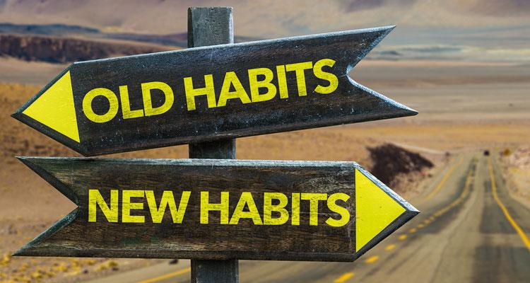 Cambiare le abitudini negative