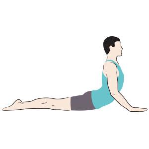 Piegamento indietro prevenire mal di schiena