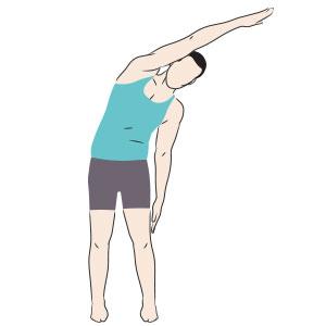 Piegamento laterale prevenzione mal di schiena