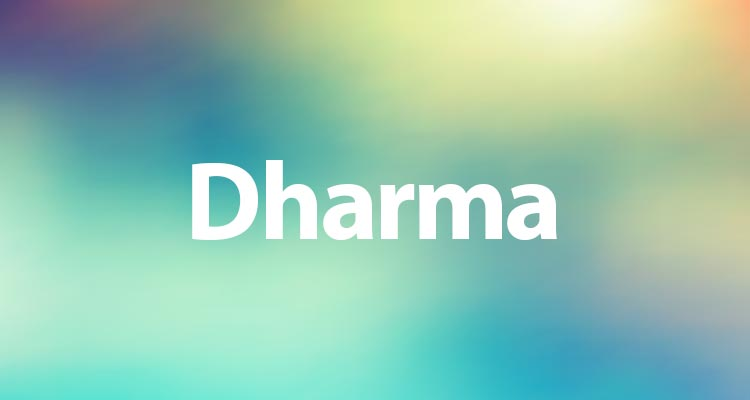 Significato dharma
