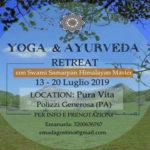 Yoga & Ayurveda Retreat con Swami Samarpan / 13-20 Luglio 2019 Polizzi Generosa (PA))