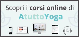 Corsi online yoga meditazione