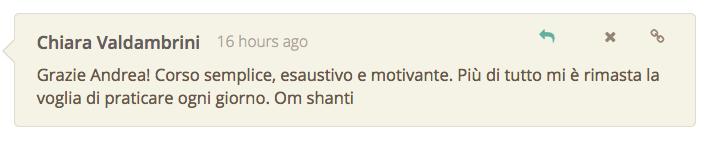 Corso motivante