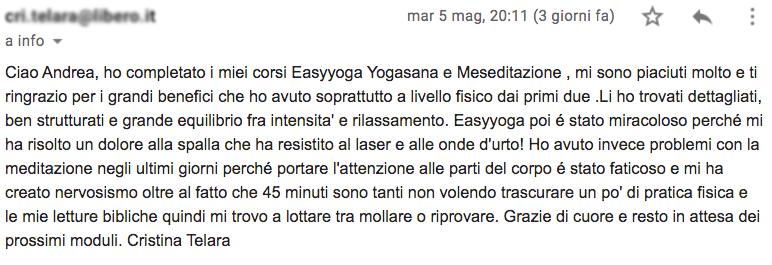 Grandi benefici corsi yoga