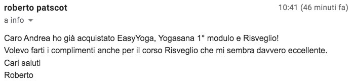 Corso yoga mattino eccellente