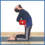 Yoga: dolce apertura del petto e delle spalle