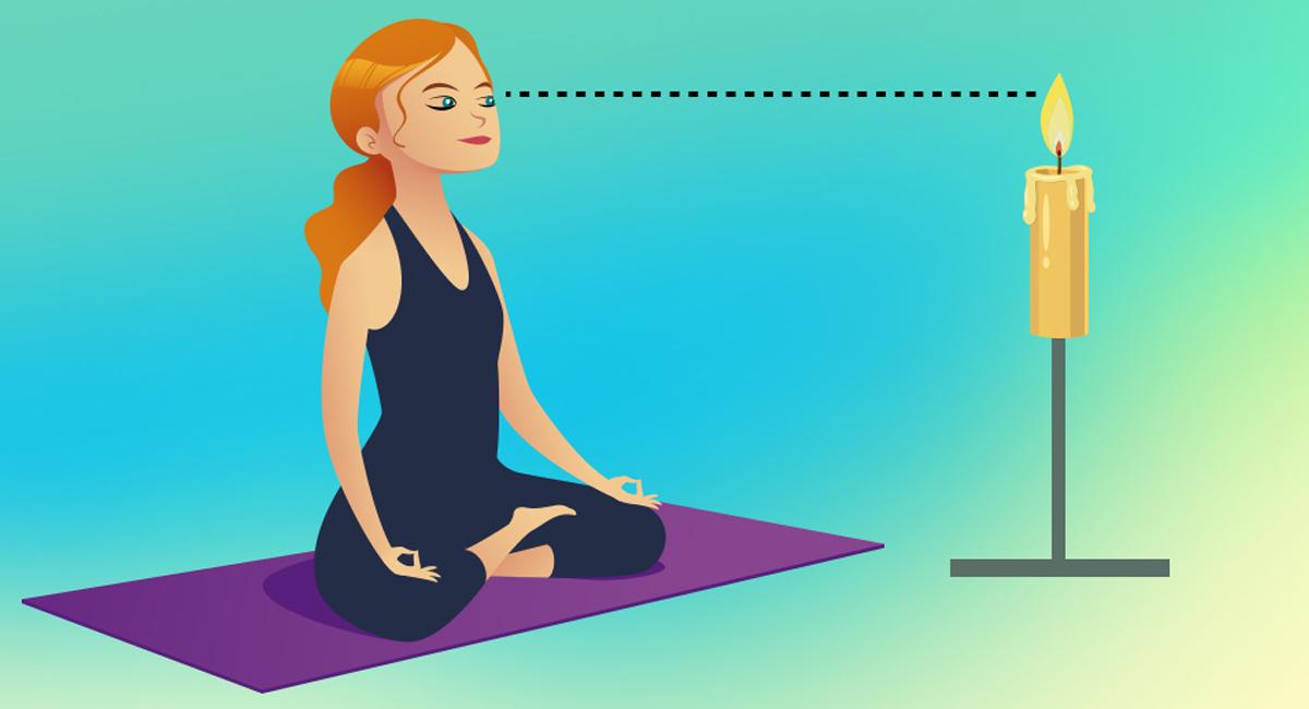 Yoga per gli occhi trataka