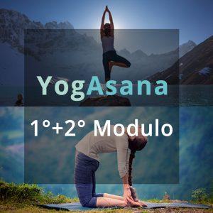 YogaAsana 1° + 2° modulo