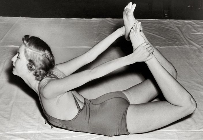storia yoga donna