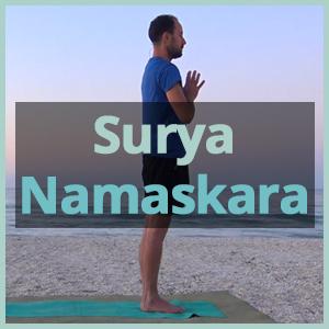 Corso saluto al sole yoga online